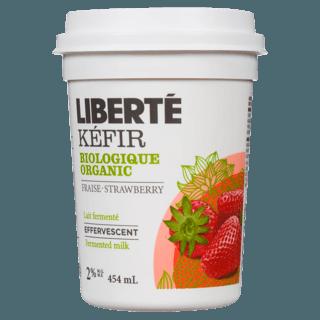 Picture of Effervescent Kéfir - Strawberry - 454 ml