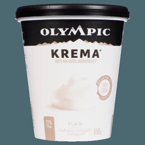 Picture of Krema Yogurt - Plain - 650 g