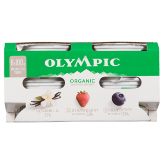 Picture of Organic Yogurt - Multipack - 8 x 100 g