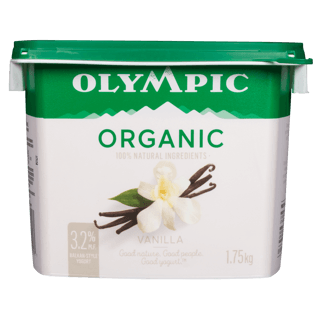 Picture of Organic Yogurt - Vanilla - 1.75 kg