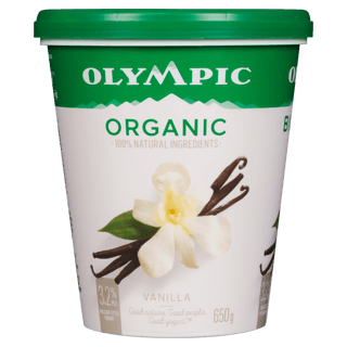 Picture of Organic Yogurt - Vanilla - 650 g