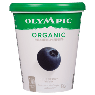 Picture of Organic Yogurt - Blueberry - 650 g