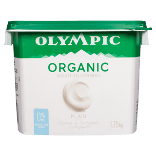 Picture of Organic Yogurt - Plain 0% Milk Fat - 1.75 kg