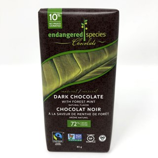 Picture of Chocolate Bar - Dark Chocolate with Forest Mint - 85 g