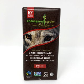 Picture of Chocolate Bar - Dark Chocolate with Cranberries & Almonds - 85 g