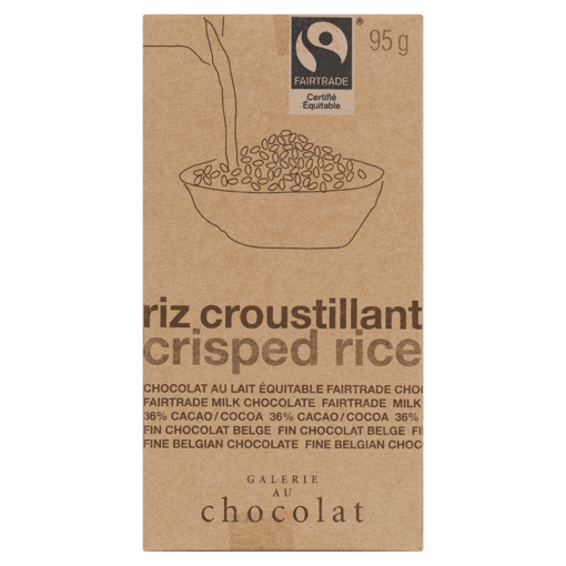 Picture of Chocolate Bar - Crisped Rice - 100 g