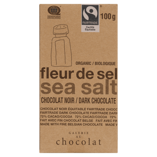 Picture of Chocolate Bar - Sea Salt - 100 g