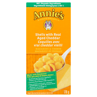 Picture of Macaroni & Cheese - Shells & Real Aged Cheddar - 170 g