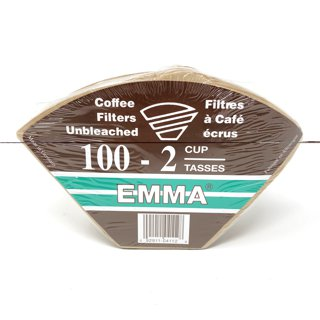 Picture of Unbleached Coffee Filters - 2 cup - 100 count