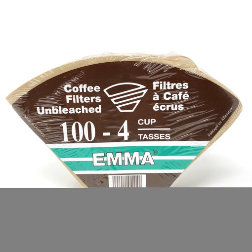 Picture of Unbleached Coffee Filters - 4 cup - 100 count