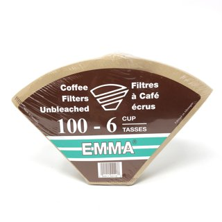 Picture of Unbleached Coffee Filters - 6 cup - 100 count