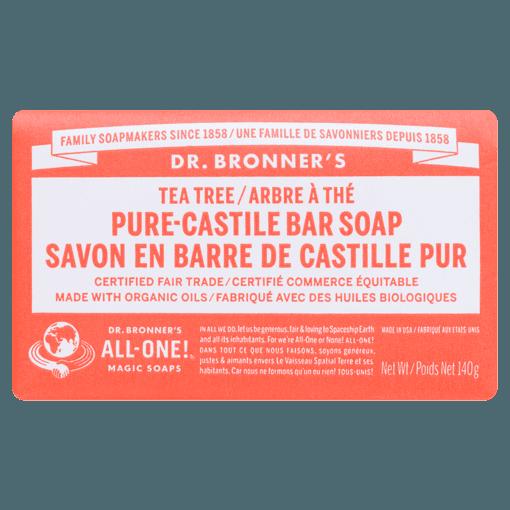 Picture of Pure-Castile Bar Soap - Tea Tree - 140 g