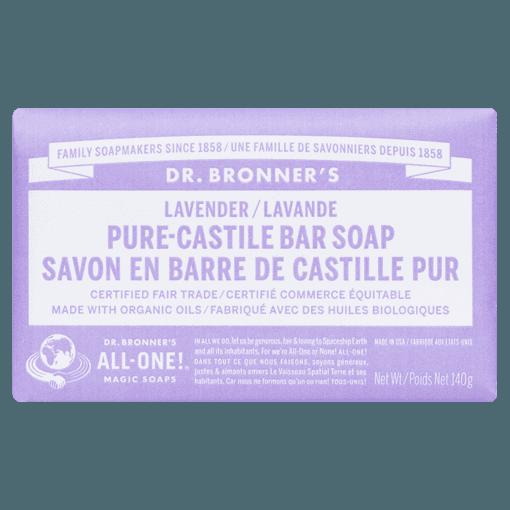 Picture of Pure-Castile Bar Soap - Lavender - 140 g