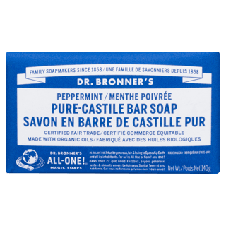 Picture of Pure-Castile Bar Soap - Peppermint - 140 g