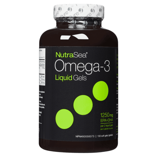 Picture of NutraSea Omega-3 Liquid Gels