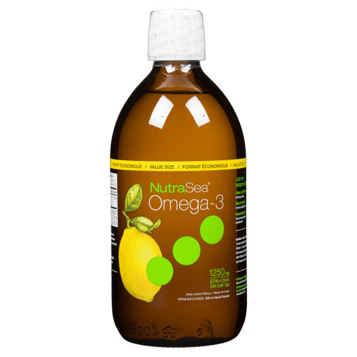 Picture of Omega-3 - Zesty Lemon 1,250 mg EPA + DHA - 500 ml