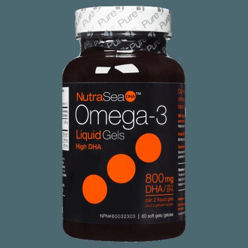 Picture of Omega-3 High DHA - Fresh Mint 1,200 mg EPA + DHA - 60 soft gels