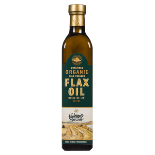 Picture of Cold-Pressed Organic Flax Oil - 500 ml