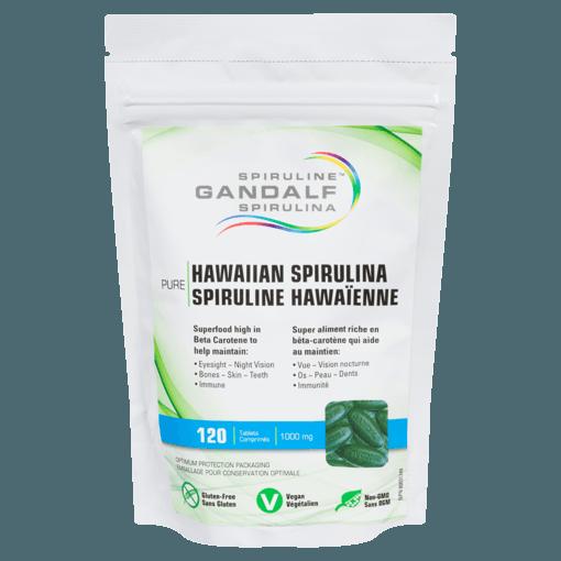 Picture of Hawaiian Spirulina - 1,000 mg - 120 tablets