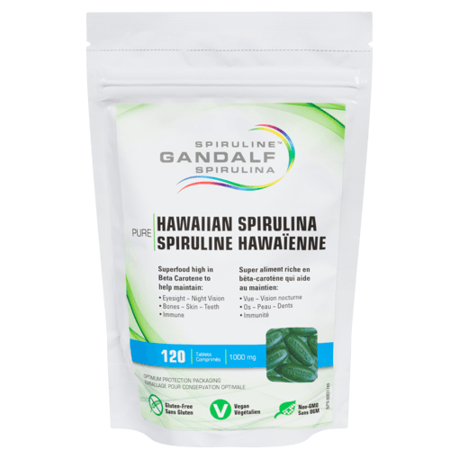 Picture of Hawaiian Spirulina - 1,000 mg - 120 tablets