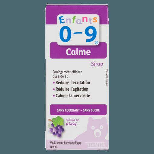 Picture of Kids 0-9 Calm - Grape - 100 ml
