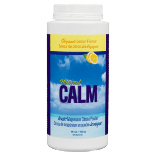 Picture of Natural Calm Magnesium Citrate Powder - Lemon - 454 g