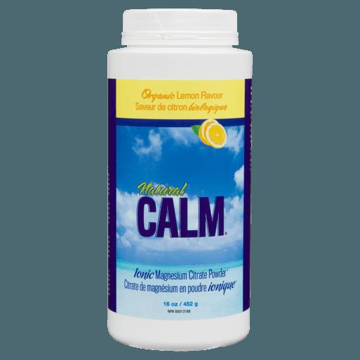 Picture of Natural Calm Magnesium Citrate Powder - Lemon - 454 g