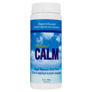 Picture of Natural Calm Magnesium Citrate Powder - Plain - 226 g