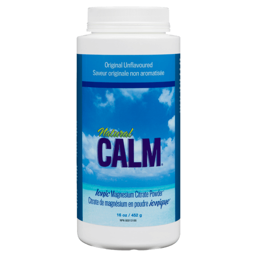 Picture of Natural Calm Magnesium Citrate Powder - Plain - 454 g