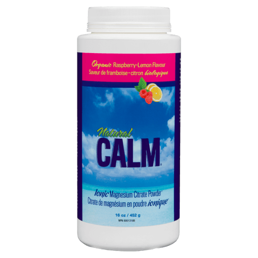 Picture of Natural Calm Magnesium Citrate Powder - Raspberry Lemon - 454 g