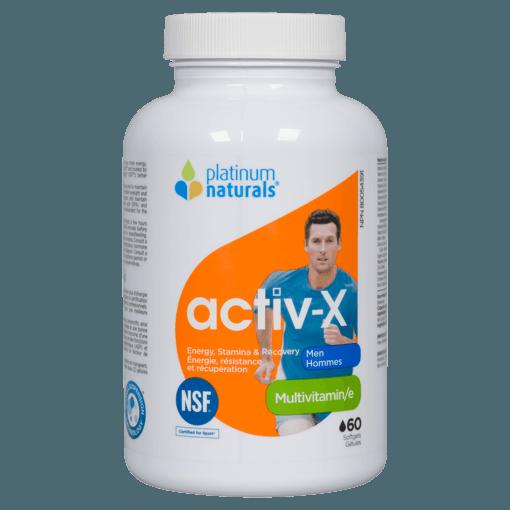 Picture of Activ-X Men Multivitamin - 60 soft gels