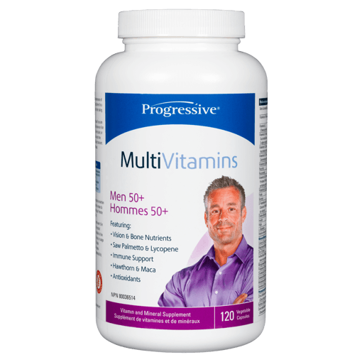 Picture of MultiVitamins Men 50+ - 120 capsules