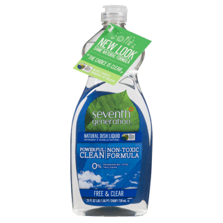 Picture of Natural Dish Liquid - Free & Clear - 739 ml