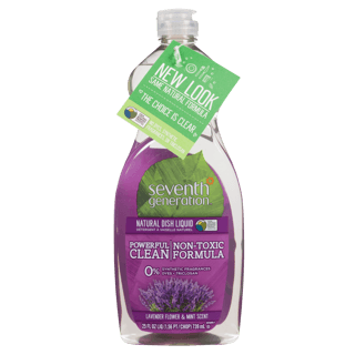 Picture of Natural Dish Liquid - Lavender Flower & Mint - 739 ml