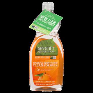 Picture of Natural Dish Liquid - Clementine Zest & Lemongrass - 739 ml