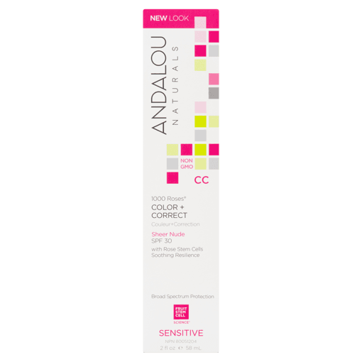 Picture of 1000 Roses CC Color + Correct SPF 30 Sensitive - Sheer Nude - 58 ml