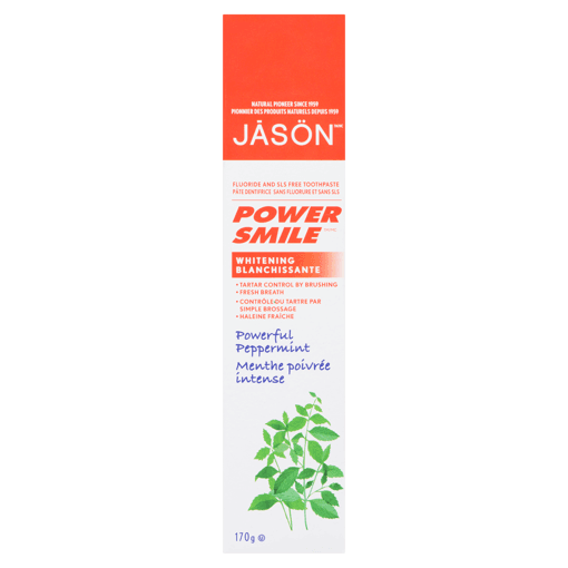 Picture of Power Smile Whitening Toothpaste - Powerful Peppermint - 170 g