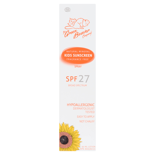 Picture of Natural Mineral Kids Sunscreen Spray - SPF 27 - 90 ml