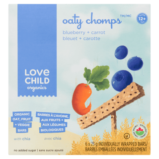 Picture of Oaty Chomps - Blueberry + Carrot - 138 g
