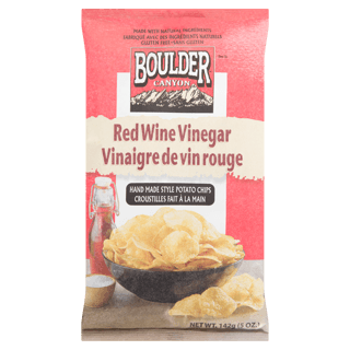 Picture of Kettle Cooked Potato Chips - Red Wine Vinegar - 142 g