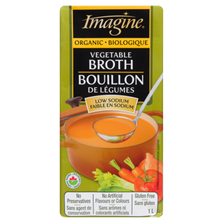 Picture of Broth - Vegetable Low Sodium - 1 L