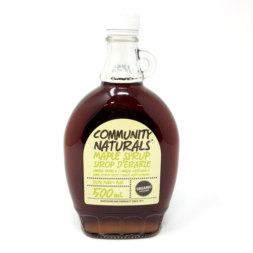 Picture of Maple Syrup Canada Grade A 100% Pure Organic Dark Robust Taste - 500 ml