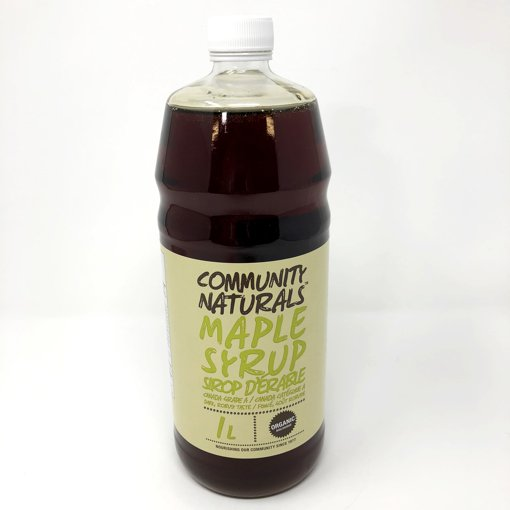 Picture of Maple Syrup Canada Grade A 100% Pure Organic Dark Robust Taste - 1 L