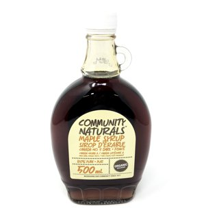 Picture of Maple Syrup Canada Grade A 100% Pure Organic Very Dark Stong Taste - 500 ml