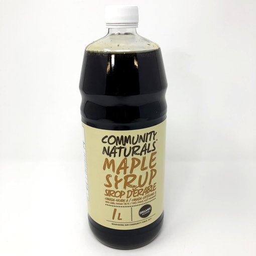Picture of Maple Syrup Canada Grade A 100% Pure Organic Very Dark Stong Taste - 1 L