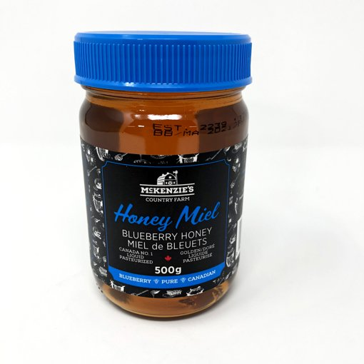 Picture of Blueberry Honey Canada No.1 Golden Liquid Pasturized - 500 g