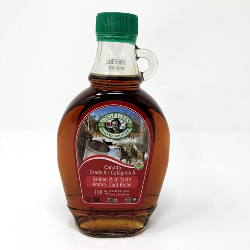 Picture of Organic Maple Syrup Grade A Amber Rich Taste
