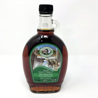 Picture of Organic Maple Syrup Grade A Dark Robust Taste - 500 ml