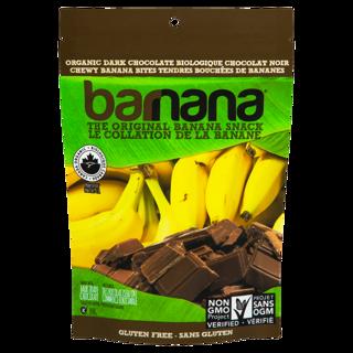 Picture of Chewy Banana Bites - Dark Chocolate - 100 g