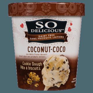 Picture of Coconut Milk Non-Dairy Frozen Dessert - Cookie Dough - 500 ml